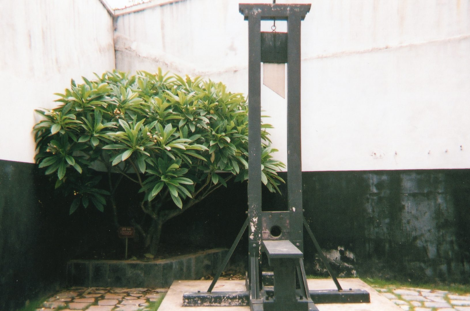 Los orígenes de la guillotina