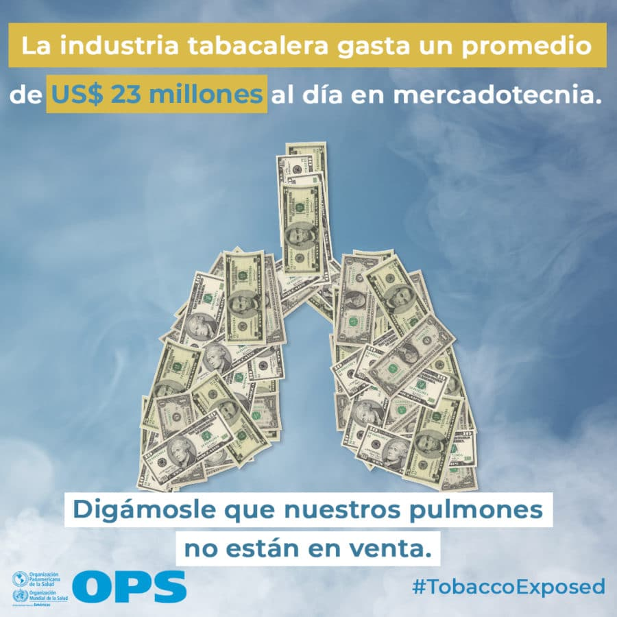 Campaña Día Mundial sin Tabaco 2020